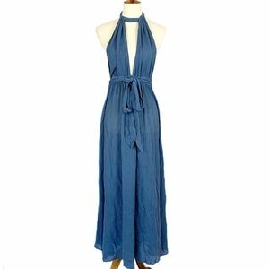 Mara Hoffman Swim Linny Halter Maxi Dress